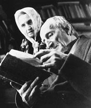 Bild Elisabeth und Albert Steffen, um 1959