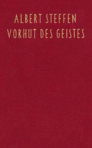 Buchcover Vorhut des Geistes