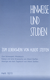 Hinweise und Studien Heft zehn elf