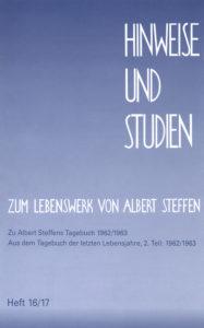 Bild Hinweise und Studien Heft sechzehn siebzehn