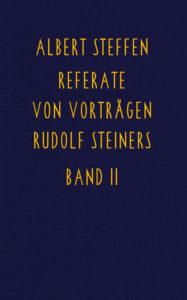 Bild Referate von Vorträgen Rudolf Steiners Band 2