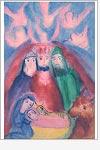 Postkarte Die heiligen drei Könige