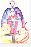 Postkarte Viergestalt