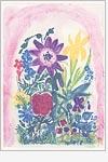 Postkarte Blumenwelt