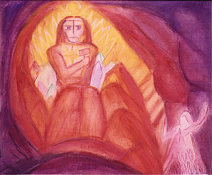Bild Hieram in der Kainshöhle