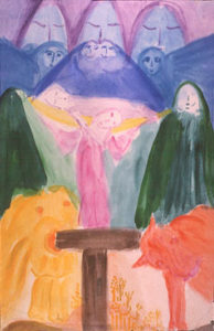 Bild Imagination des Manes I, Die Oberwelt