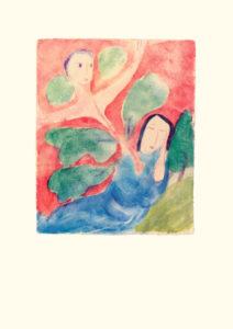 Geist-Erwachen aus der Bildmappe «Lebensbilder an der Todespforte»