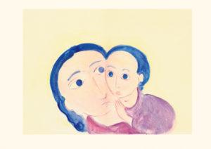Himmelsgeschwister Bild aus der Bildmappe «Lebensbilder an der Todespforte»