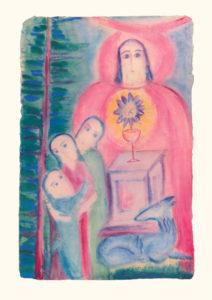 Passion Bild aus der Bildmappe «Lebensbilder an der Todespforte»
