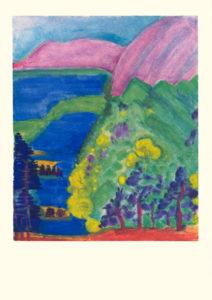 Elysische Landschaft Bild aus der Bildmappe «Lebensbilder an der Todespforte»