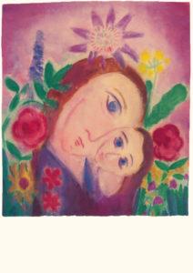 Bild Motiv mit Blumen