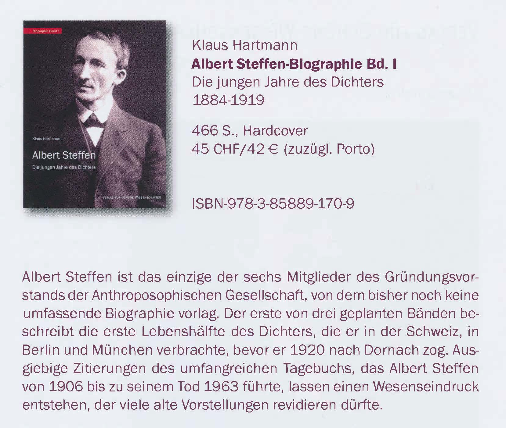 Anzeige Bild Steffen-Biographie